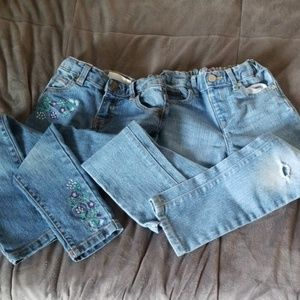 Children's Place Bottoms - 2 pairs girls jeans